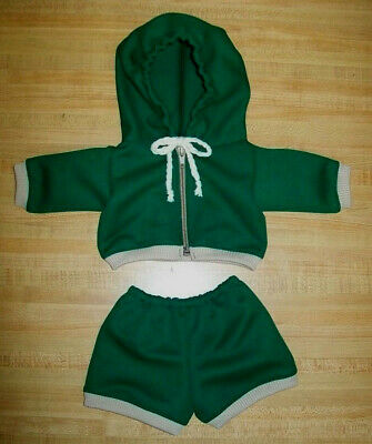 """KHAKI IVY OLIVE GREEN COTTON PANTS or SHORTS for 16-17/"""" CPK Cabbage Patch Kids"""