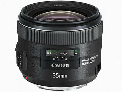 Canon EF 35mm F2 IS USM Lens Japan Domestic Version New