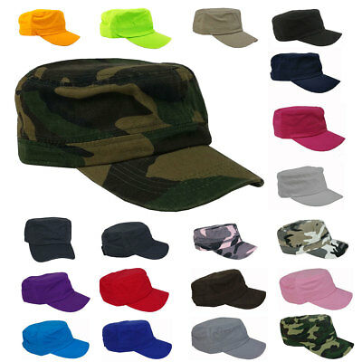 Army Cadet Military Patrol Cap Castro Hat Men Women Golf Driving Summer Baseball