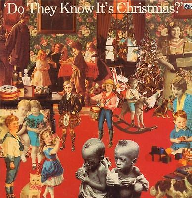 """Band Aid(12"""" Vinyl P/S)Do They Know It's Christmas-Mercury-FEED 112-UK-Ex/Ex"""