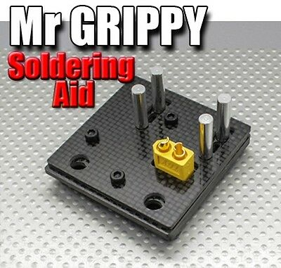 Mr GRIPPY - Suitable for Soldering XT60 Deans 3.5mm 4.0mm 5.5mm JST and others