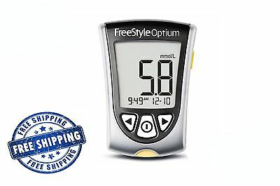 Freestyle Optium Blood Glucose and Ketone Monitoring System Diabetic Meter