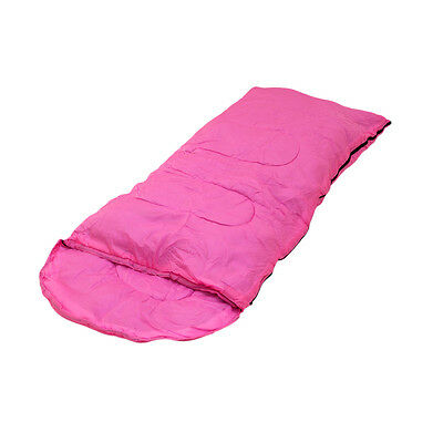 Plixio Kids Pink Sleeping Bag for Girls Slumber Party Princess Indoor Outdoor