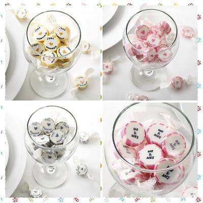 Just Married/Mr and Mrs Rock Sweet  - Wedding Favours - Sweetie Carts - CANDY