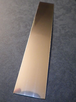 925 Solid STERLING SILVER Sheet Metal 28 Gauge 1x6 Inch 100% RECYCLED USA MADE