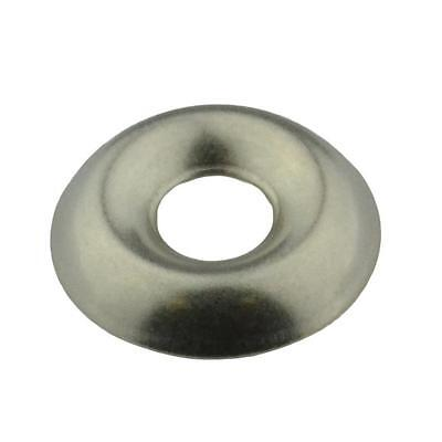Qty 100 Cup Washer 10g / No.10 Imperial Stainless Steel SS 304 A2 Finishing