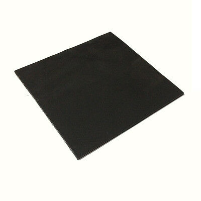 100mm*100mm*1.5mm Heatsink Silicone Thermal Pad Mat For Intel AMD Chips IC Black