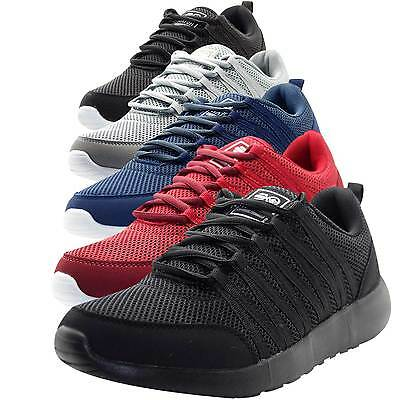 Crosshatch New Mens Designer Low Ankle Light Weight Sneakers Mesh Trainer Shoes