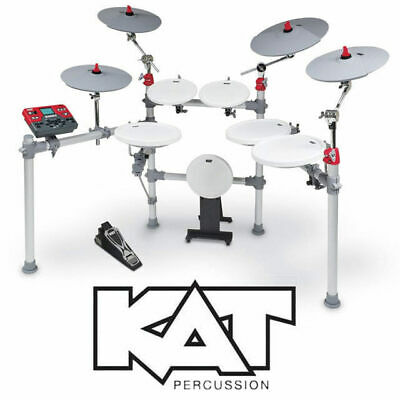 KAT Percussion KT3 Electronic 6pce Drum Kit with 2 crash cymbal and ride