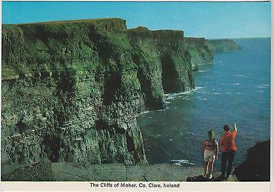 Postcard  IRELAND  The Cliffs of Moher  Co. Clare