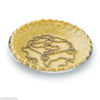 Norpro 6' Pie Crust Chain Weight Stainless Steel Prevent Bubbles Cracking #3905
