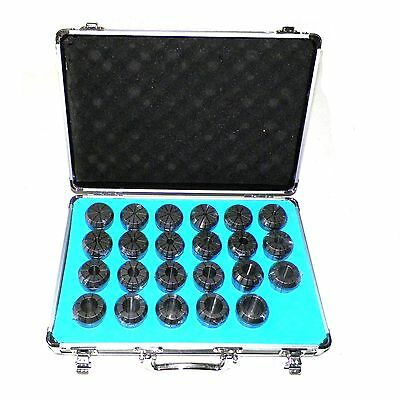"23 PCs  ER40 COLLETS SET 1/8"" to 1"" FOR MILLING LATHE PRIME QUALITY ER 40 COLLET"