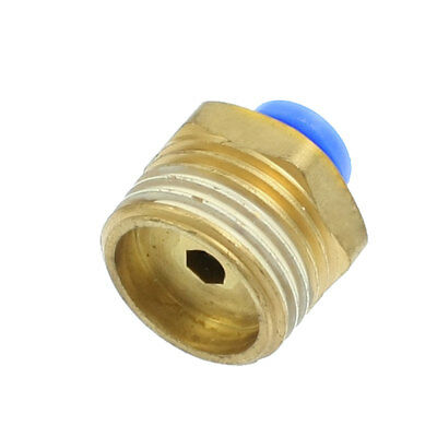 Pneumatic Straight Connector 6mm Push in Joint Quick Fitting Coupler