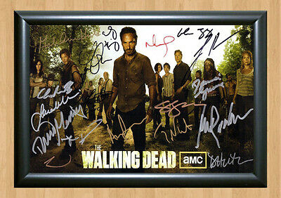 THE WALKING DEAD Season 3 Cast SIGNED x13 Autographed PHOTO Print POSTER DVD 2 4