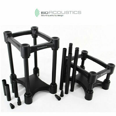 IsoAcoustics ISO-L8R200 studio monitor speaker stands Pair