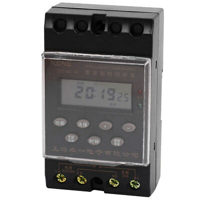ZYT16G-JW DIN Rail Mounted LCD Programmable Microcomputer Timer Switch