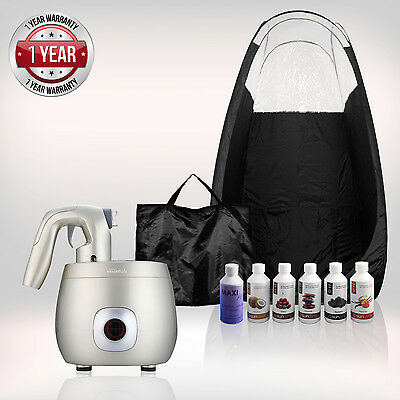 Tanning Essentials™ PRO V Complete Spray Tan Kit 'Champagne Gold' + FREE Tan