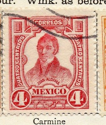 Mexico 1910 Early Issue Fine Used 4c. 006290