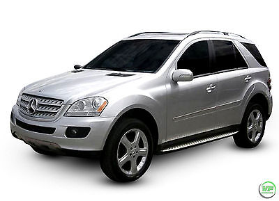RB013 Mercedes ML Class W164 06-11 Running Boards Side Steps +FREE FITTING CLIPS