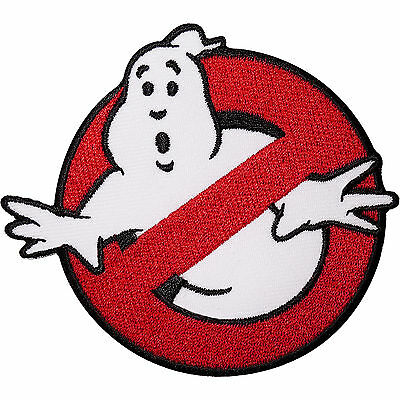 Ghostbusters Embroidered Iron Sew On Patch Fancy Dress Costume T Shirt Bag Badge