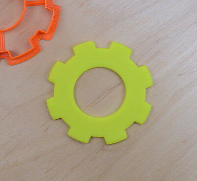 Gear Cookie Cutter #1 - 3d printed plastic