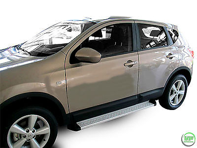 Running Boards Side Steps TOP QUALITY PRODUCT For Nissan Qashqai mk1 J10 2007-13