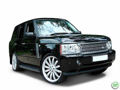 Range Rover Vogue OE 2002-2012 Style Running Boards Side Steps With Mudflaps
