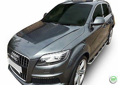 Brand New Running Boards Side Steps Audi Q7 mk1 2006-2014 Original OE style