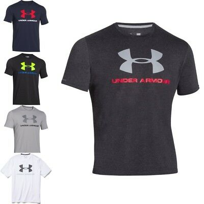Under Armour Herren T-Shirt Charged Cotten Sportstyle - Sport- und Freizeitshirt