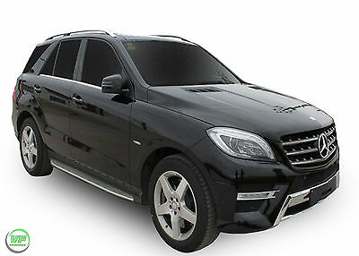 Mercedes W166 ML M-Class / GLE  2012-up Running Boards Side Steps OE AMG style