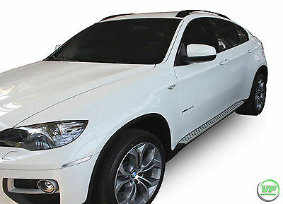 BMW X6 E71 / E72 2008-2014  Running Boards Side Steps Original OE style
