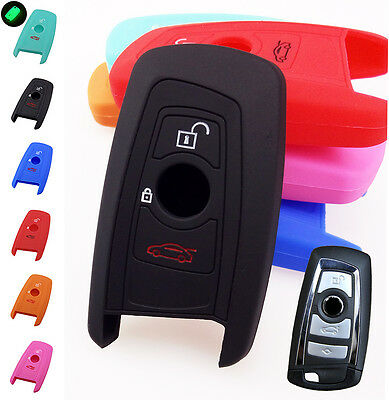 Fit For Bmw 1 3 5 7 Series X1 X3 X4 X5 X6 Z4 Silicone Key Cover Remote Case Fob
