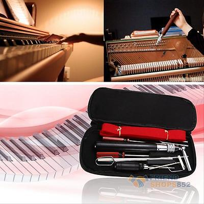 13pcs Professional Piano Tuning Maintenance Tool Hammer Tone Fork Kit w/ Case