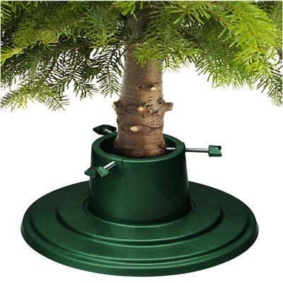 True Round Green Christmas Tree Stand for Real Christmas Trees up to 6ft / 1.8m