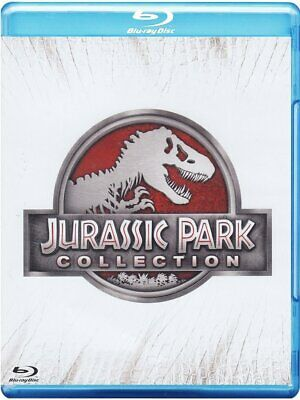 JURASSIC PARK COLLECTION (4 BLU-RAY) COFANETTO SAGA COMPLETA di Steven Spielberg