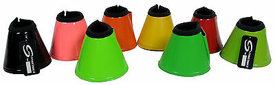 Equestrian Horse Over Reach Soft Neoprene Bell Boots Various Sizes & Colours