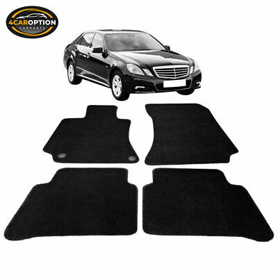 Limited Time Sale Fits 10-12 W212 E-Class Floor Mats Carpet Front & Rear Nylon