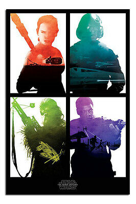 Star Wars Episode 7 The Force Awakens Rebels Poster New - Maxi Size 36 x 24 Inch