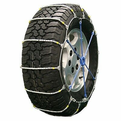 Quality Chain Cobra Cable PAIR Snow Tire Chains Fits 275/65R17