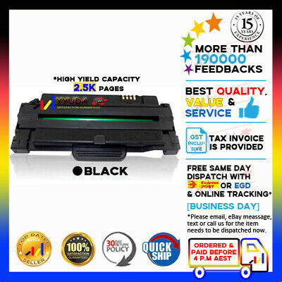 5 Generic MLT-D105L Toner Cartridge for Samsung SCX-4623F ML-2520 2540 2545 2580