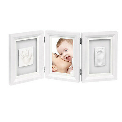 Triple Newly Born Baby Scan Photo Picture Frame Present Christening Gift Unisex