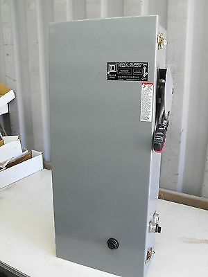 Square D Combo Motor Starter/AC Pump Control Panel New In Box