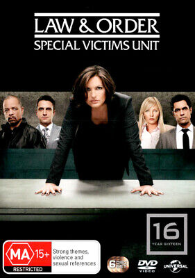 Law And Order Special Victims Unit SVU - Season 16 DVD R4 Brand New!
