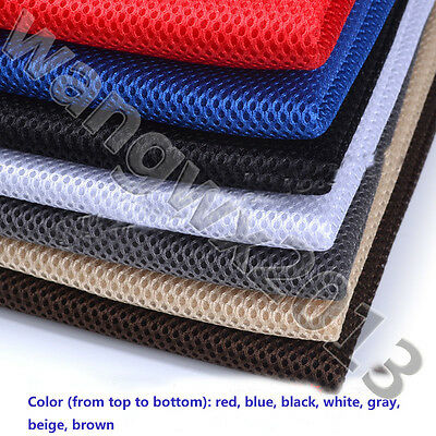 Speaker Dust Cloth Grill Filter Fabric Mesh Black/Gray/Beige/Brown/Red/Blue/Pink