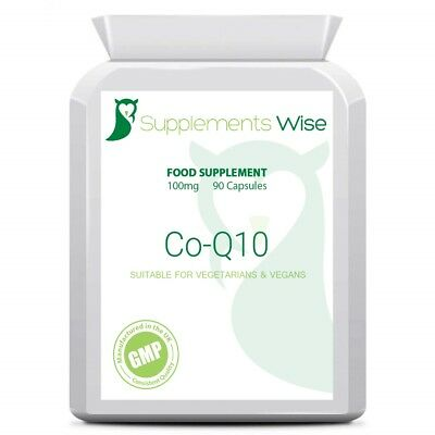 CoEnzyme Q10 100mg 180 Capsules HIGH STRENGTH Energy Heart Health Supplement