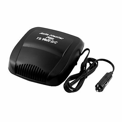 New Black 12V Car Auto Vehicle Portable Ceramic Heater Heating Cooling Fan