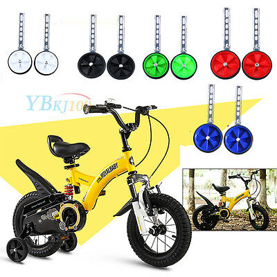 "Child Childrens Bike Bicycle Stabilisers Stabilizer 12-20"" Inch Training Wheels"