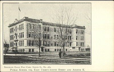 c1905 Brooklyn NY Eagle Postcard #483 Public School #119