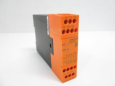 Dold BG5924 Safemaster Safety Relay, DIN Mountable, 24VAC/DC, 1NC/3NO