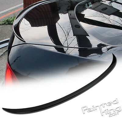 --06-11 Painted BMW 3-Series E90 M3 Rear Trunk Lip Spoiler ABS #A52